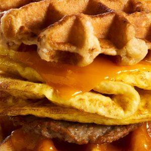coraville breakfast sandwich